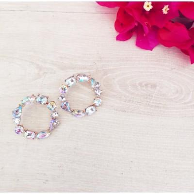 Σκουλαρίκια με πέτρες